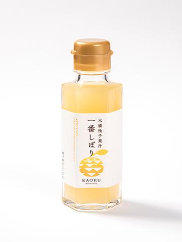 木頭柚子一番果汁  一番しぼり【常温】100ml
