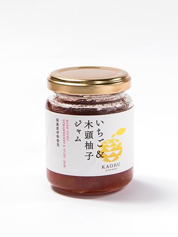いちご&木頭柚子ジャム