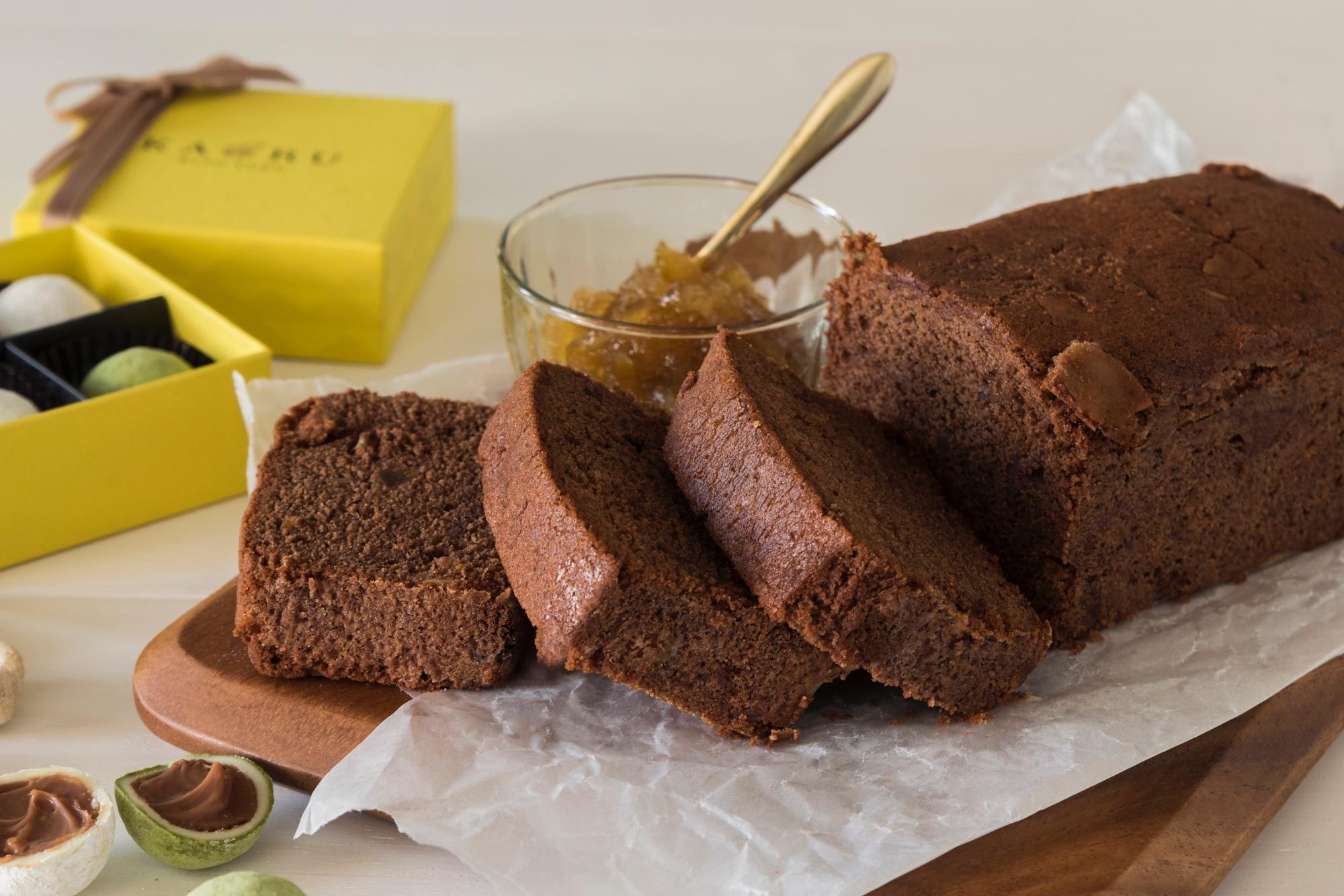 〈期間限定〉木頭柚子 プレミアムチョコパウンドケーキ