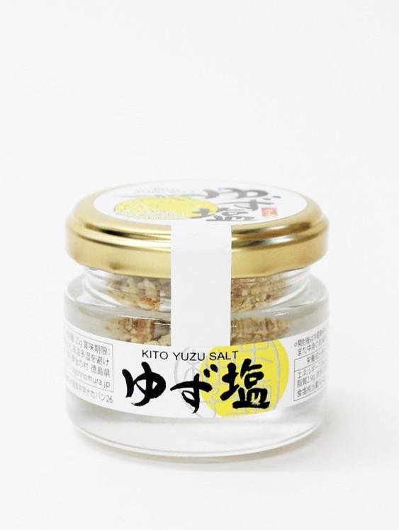 木頭柚子 ゆず塩 25g
